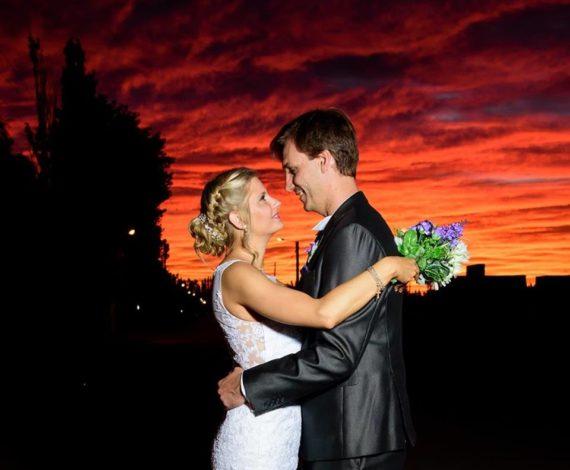 Peinado y maquillaje de boda en Argentina